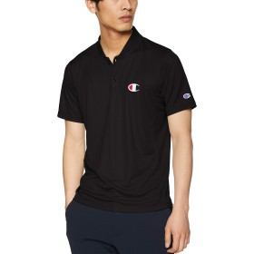 [チャンピオン] ポロシャツ C3-PS329 メンズ ブラック 日本 M (日本サイズM相当)