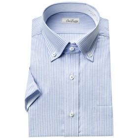 [オン デューティー]形態安定加工ワイシャツ 半袖 ボタンダウン メンズ [455-M]