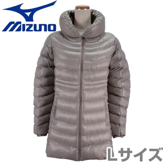 ミズノ(MIZUNO) ブレスサーモ テックフィルジャケット ウィメンズ Mサイズ C2JE570249L ベージュ