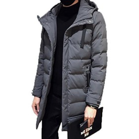 topmodelssメンズ ダウンジャケット 冬服 防寒 ジャケット フード付き 中綿 ジャケット カジュアル ロング丈 厚手 アウター