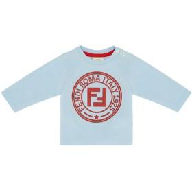 Fendi Kids ロゴセーター - ブルー