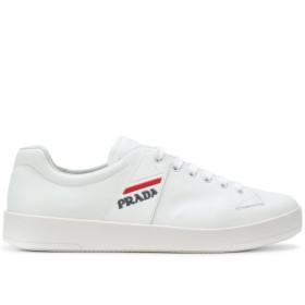 Prada カーフレザー スニーカー - ホワイト
