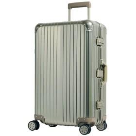 S型 アルミブロンズ/AL-0015 スーツケース アルミ合金 TSAロック搭載 Wキャスター 小型(1~3日用)