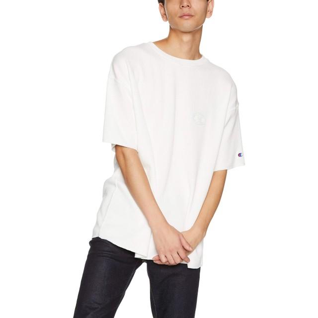 [チャンピオン] ビッグTシャツ C3-N302 メンズ オフホワイト 日本 M (日本サイズM相当)