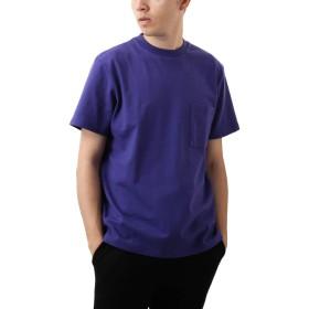 [REPIDO (リピード)] Goodwear Tシャツ 半袖 無地 クルーネック メンズ Tシャツ カットソー トップス ラベンダー XLサイズ