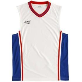 バイク ゲームシャツ BK4612 221 ホワイト×ブルー×レッド O
