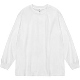 ys-asty-t1304 L ホワイト(WH) (アルスタイルアパレル) ALSTYLE APPAREL ALSTYLE 長袖 Tシャツ Tee アルスタイル メンズ ロンTEE 長袖Tシャツ ロンT ブランド アメカジ 無地 シンプル ys-asty-t1304