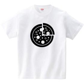 [itaxes] PIZZA ICON(Tシャツ・ホワイト)(Mサイズ) (GMDW)