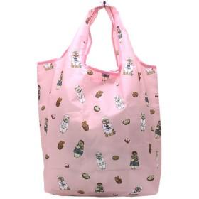 トートバッグ ショッピングバッグ 世にも不思議な猫世界 キャラクター ネコ 猫 携帯用 大きめ お買い物バッグ エコバッグ 鞄 肩掛け 手提げかばん (笹かまベーカリー)