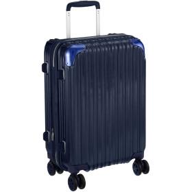 [シフレ] ハードジッパースーツケース キャリーケース 機内持込 容量アップ拡張機能付 Sサイズ 小型 1年保証付 35-40L TRIDENT トライデント TRI2035-49 保証付 40L 49 cm 3.3kg ディープネイビー
