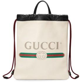 Gucci グッチ プリントドローストリング バックパック