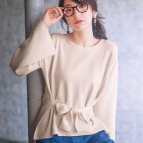 ジーラ バイ リュリュ(ファッション)(GeeRA by RyuRyu)/リボンデザインがかわいいニットチュニック