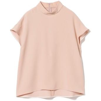 (デミルクスビームス)Demi-Luxe BEAMS シャツ ブラウス スタンドネック プルオーバー レディース 38 ピンク