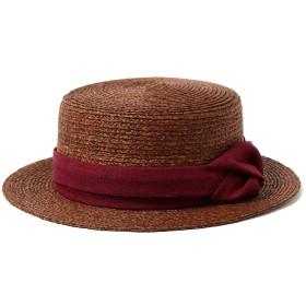 [レイビームス] 帽子 CONTROL FREAK (コントロールフリーク) × Ray BEAMS 別注 ラフ巻き カンカン帽 レディース ブラウン One Size
