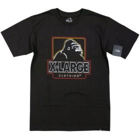 (エクストララージ) X-LARGE CENTRAL SS TEE OGロゴプリント 半袖 Tシャツ S BLACK(ブラック) [並行輸入品]