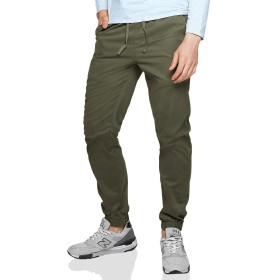 Matchstick(マッチスティック)ジョガーパンツ メンズ 大きいサイズ 迷彩 ツイル スウェットパンツ テーパード ズボン メンズ #6535 (オリーブグリーン, 5XL/42)