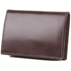 [コルボ] CORBO. 小銭入れ CORBO式 ボックス型 カードコインケース 1LD-0222 フェイス ブライドルレザー シリーズ face Bridle Leather ワイン CO-1LD-0222-83