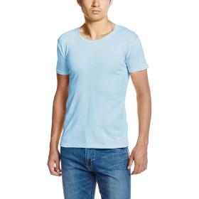 [ダルク] 半袖 5.0オンス スタンダード クルーネック Tシャツ DM030 ライトブルー M (日本サイズM相当)