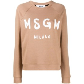 MSGM ロングスリーブ セーター - ニュートラル