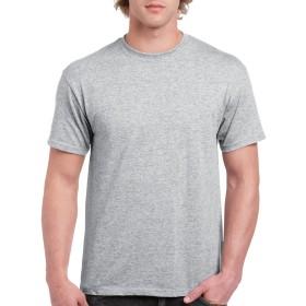 (ギルダン) Gildan メンズ ウルトラコットン クルーネック 半袖Tシャツ トップス 半袖カットソー 定番アイテム 男性用 (3XL) (スポーツグレー)