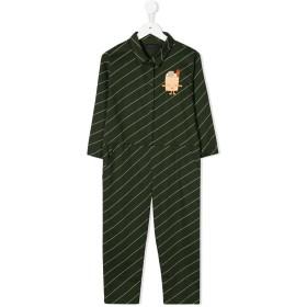 Tiny Cottons ストライプ ジャンプスーツ - グリーン