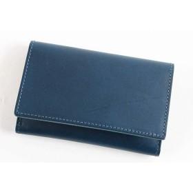[lemma] レンマ 名刺入れ 革 日本製 ブルー