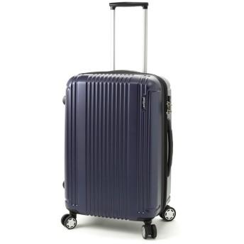 BERMAS PRESTIGE II バーマス プレステージ2 4輪 スーツケース ハードキャリー ファスナータイプ 49L TSAロック付 ネイビー 60253-NV