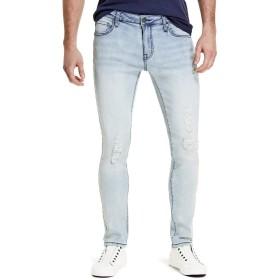 GUESS Factory PANTS メンズ US サイズ: 34 / R カラー: ブルー