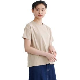 (メルロー) merlot 【IKYU】トルコオーガニックコットンTシャツ ベージュ