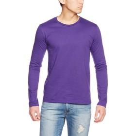 [トラス] Tシャツ SFL-110 メンズ ディープパープル 日本 S-(日本サイズS相当)