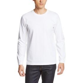 (ユナイテッドアスレ)UnitedAthle オーセンティックスーパーヘヴィーウェイト 7.1オンス 長袖Tシャツ(1.6インチリブ) 426201 [メンズ] 001 ホワイト XL