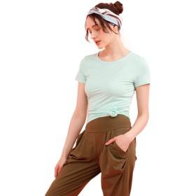 ベーシックショートスリーブクルーネックTシャツ[無地/ボーダー]/カットソー/Tシャツ/tシャツ/ティーシャツ/ボーダー/無地/レディース/レディス/トップス/カット/クルーネック/シンプル/ベーシックシリーズ/大きいサイズ/XL/L/M/S XL ミント