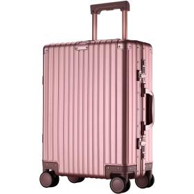 【XDJ Life】 スーツケース アルミマグネシウム合金 キャリーバッグ ダブルキャスター・静音 キャリーケース TSAロック搭載 フレームタイプ ドイツ製カバー付き 軽量