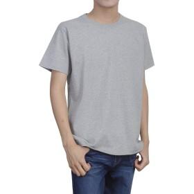 ティーシャツドットエスティー Tシャツ 半袖 無地 厚手 スーパーヘビーウェイト 7.1oz メンズ ミックスグレー M