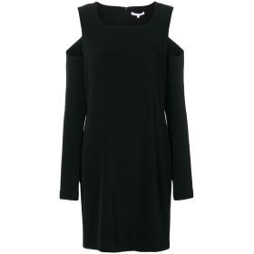 Helmut Lang オープンショルダー ドレス - ブラック