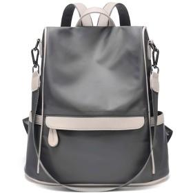 LOVE LABINI レディバックパック オックスフォード布 ハンドバッグ 盗難防止 ショルダーバッグ ワイルド タウンリュック ファッション ビジネスリュック ブラック