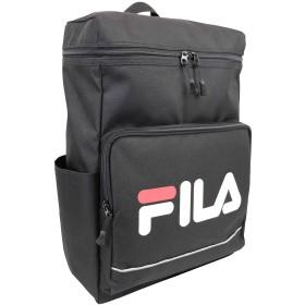 FILA(フィラ)タウンスクエアリュック BOX型 軽量 撥水 (ブラック)