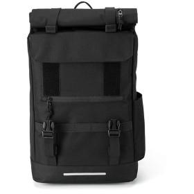 ビジネスリュック 撥水加工 3way リュックサック PCリュック USBポート付き 大容量 通勤 通学 旅行 軽量 メンズ レディース 肩 負担 軽減 (02 黒, M)