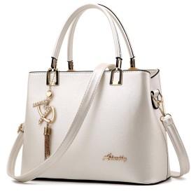 【G-AVERIL】選べる6色 3way バッグ メイン 3スペース セパレート レディース ハンドバッグ シンプル かわいい