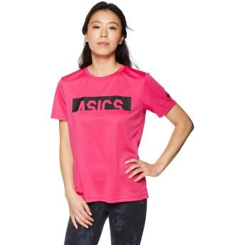 [アシックス] トレーニングウエア CA半袖シャツ 2032A672 [レディース] ブライトローズ 日本 S (日本サイズS相当)