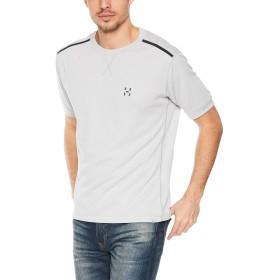 [ホグロフス] Tシャツ FRANS SS TEE MEN フランショートスリーブティー メンズ STONE GREY UK L (日本サイズL相当)