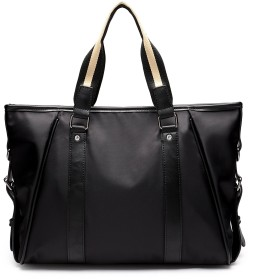 [ジョー マリノ] メンズ ビジネスバッグ A4 サイズ対応 通勤 出張 軽量型 3カラー (160-BLACK)