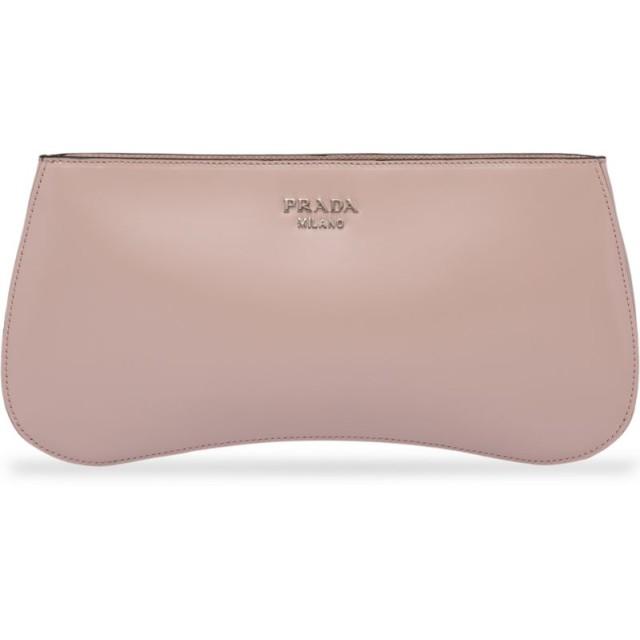 Prada シドニー ショルダーバッグ - ピンク