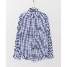 アーバンリサーチ MANUAL ALPHABET ギンガムBDシャツ メンズ NAVY 3 【URBAN RESEARCH】