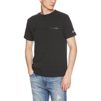 [チャンピオン] スクリプトロゴTシャツ ベーシック C3-M350 メンズ ブラック 日本 XL (日本サイズXL相当)