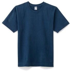 スーパーヘビーウェイト半袖Tシャツ MS1150 10.2oz 厚手素材 LIFEMAX   8 ネイビー,S