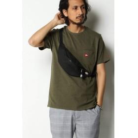 イッカ メンズ(ikka) Healthknit Product Tシャツ【ライムグリーン/M】