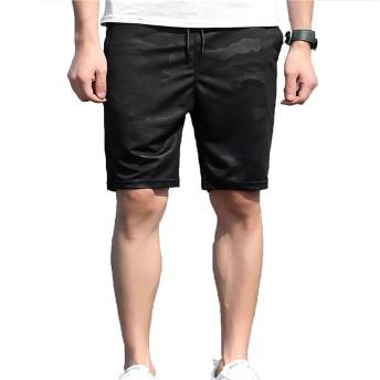 LPHJ ショートパンツ メンズ 短パン ハーフパンツ ストレッチ 春 夏 大きいサイズ 迷彩柄 (L)