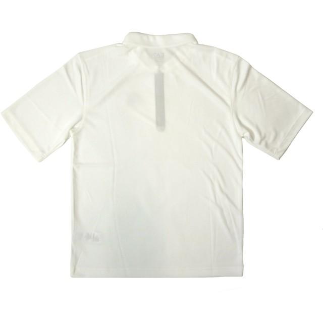 pretty nice 3f356 5fa35 アルマーニ] ポロシャツ 速乾素材 ゴルフ用 ホワイト EA7 273243 ...