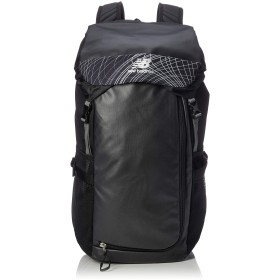 [ニューバランス] バックパック 35ℓ 35L ブラック・シルバー